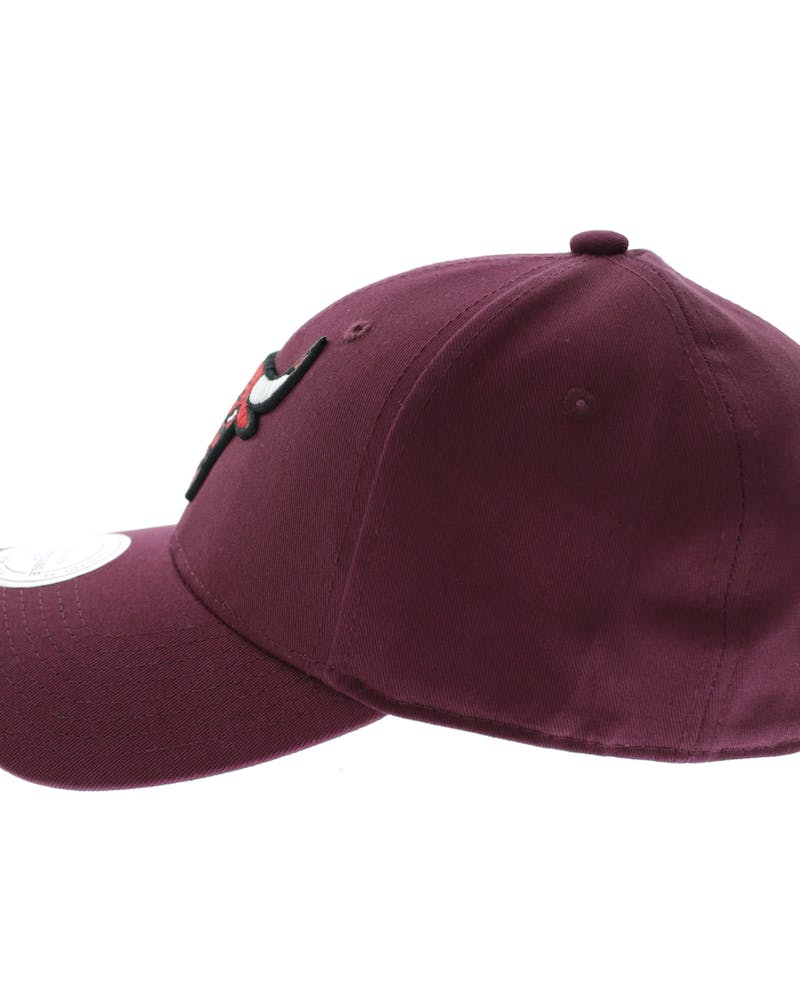 Mitchell & Ness Chicago Bulls Low Pro Strapback Maroon
