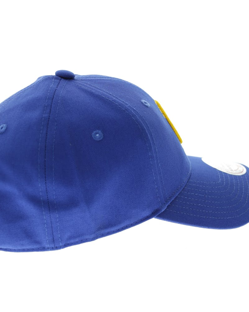 Mitchell & Ness Warriors Low Pro Strapback Royal Blue