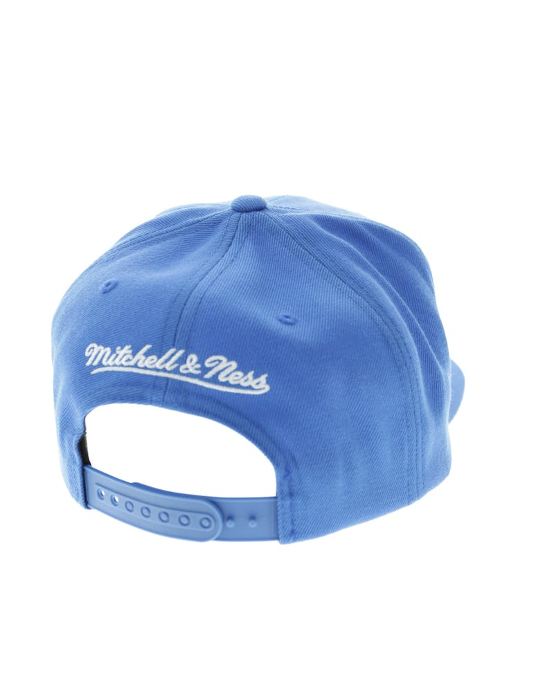 Mitchell & Ness 76ers Wool Solid Snapback Blue/Green