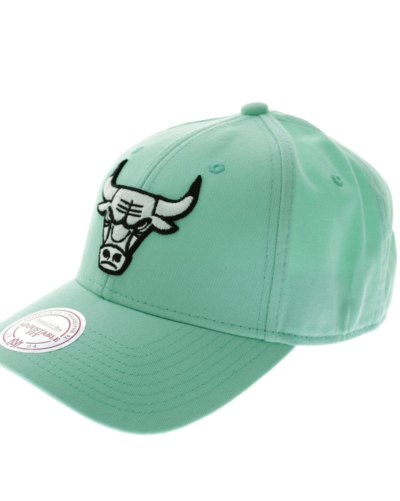 Mitchell & Ness Bulls B/W Logo Low Pro Mint