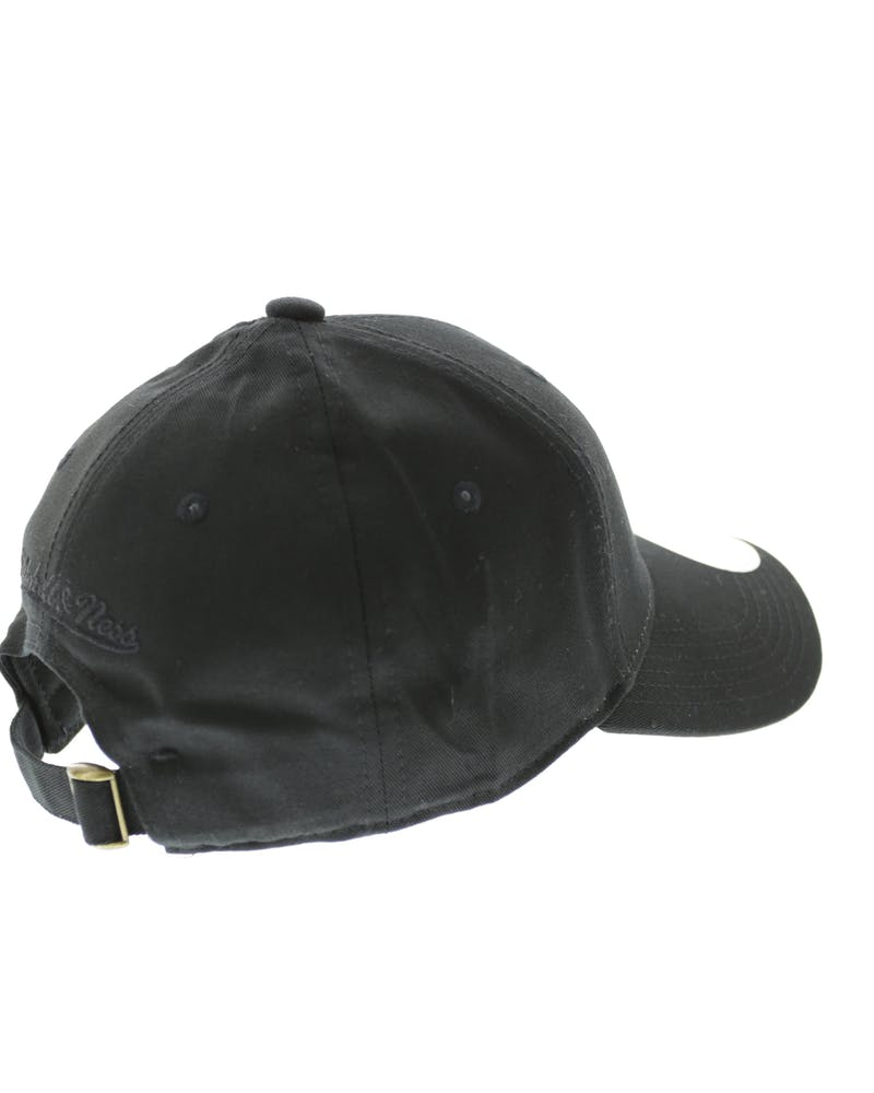 Mitchell & Ness Warriors Women's Low Pro Strapback Black/Black