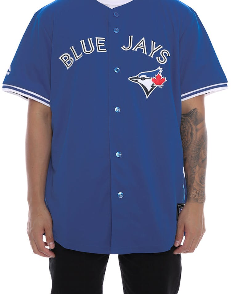 9a54943e338 Majestic Athletic Blue Jays Replica Jersey Royal – Culture Kings NZ