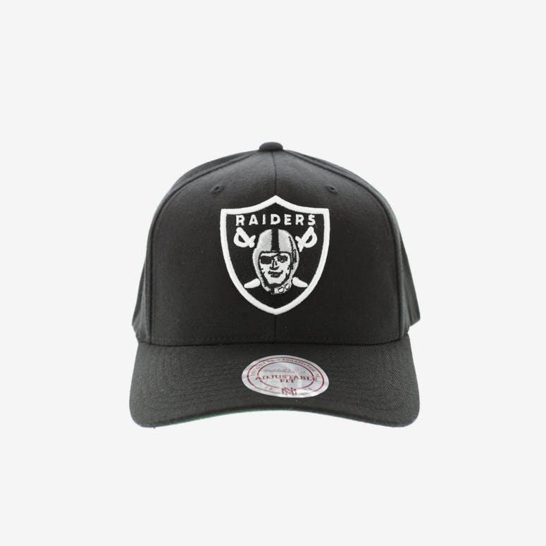 Mitchell   Ness Oakland Raiders Flex 110 Embroidered Logo Snapback  Black Grey Green 12d71800fb2