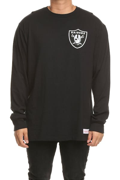 Mitchell & Ness Raiders Triple Double Long Sleeve Black