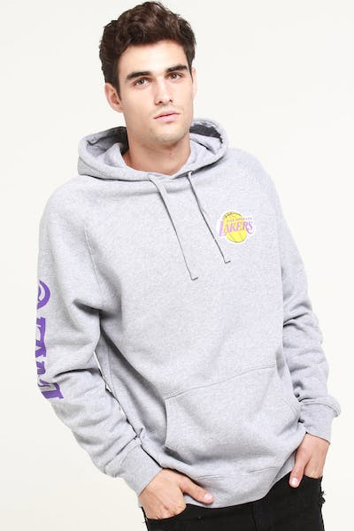 Mitchell & Ness Los Angeles Lakers (TC) Wordmark Hood Grey