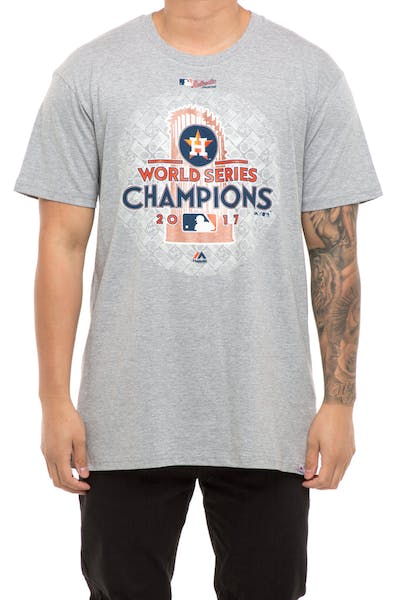 Majestic Athletic Houston Astros World Series Winner T-Shirt Grey