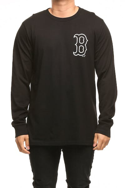 Majestic Athletic Boston Red Sox Vigar LS Tee Black/White