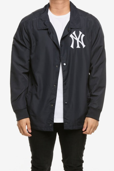 Majestic Athletic New York Yankees Russo Coach Jacket Navy