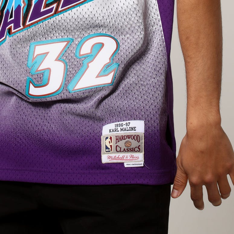 c831d18073e1 Mitchell   Ness Utah Jazz Karl Malone  32 NBA Jersey Purple
