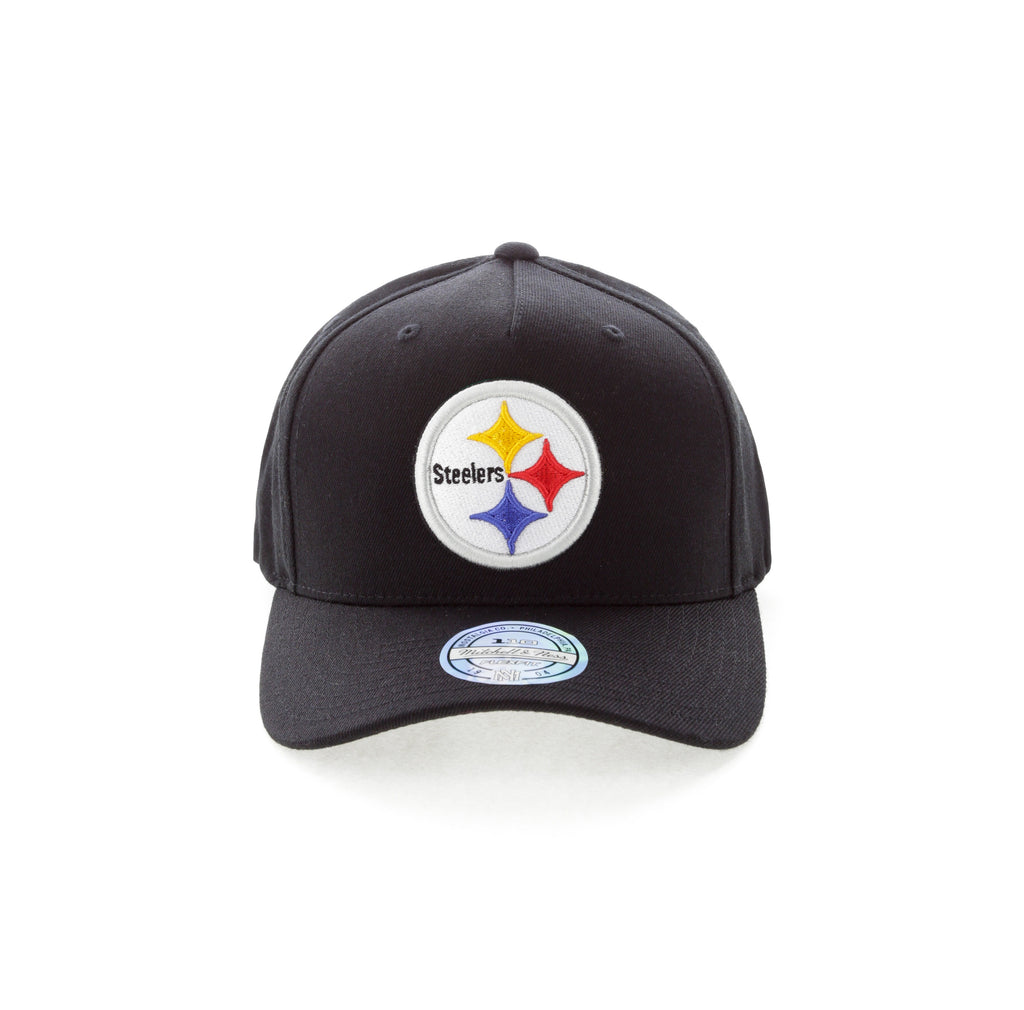 sale retailer faf89 3851c ... sale mitchell ness pittsburgh steelers team 110 pinch snapback black  bbc7a 6687d