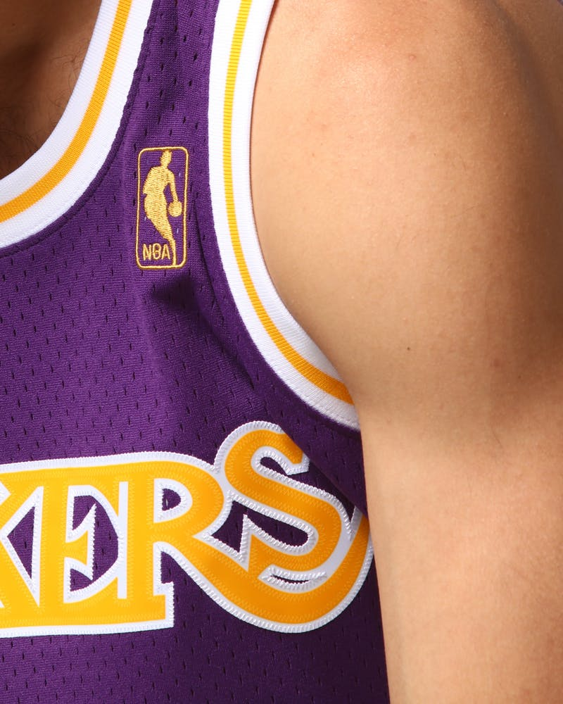 Mitchell & Ness Los Angeles Lakers Shaquille O'Neal #34 NBA Jersey Purple