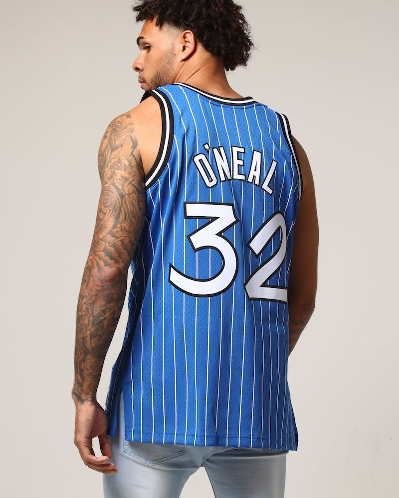 Mitchell & Ness Orlando Magic Shaquille O'Neal #32 NBA Jersey Royal