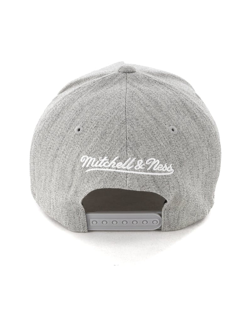Mitchell & Ness Boston Celtics Pinch 110 Snapback Grey Heather