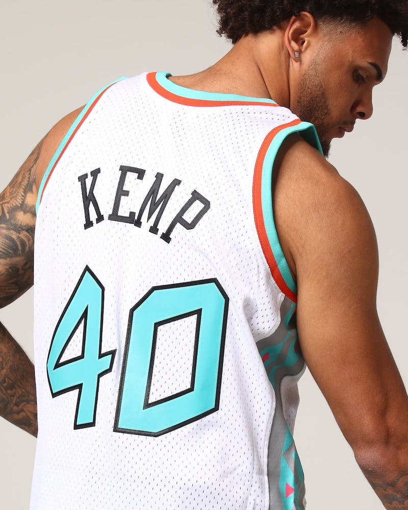 Mitchell & Ness 1996 Allstars Shawn Kemp #40 NBA Jersey White