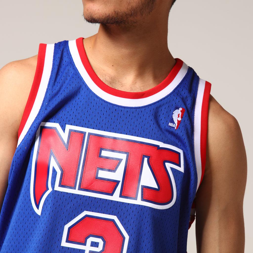 Mitchell & Ness New Jersey Nets Drazen Petrovic #3 NBA Jersey Royal