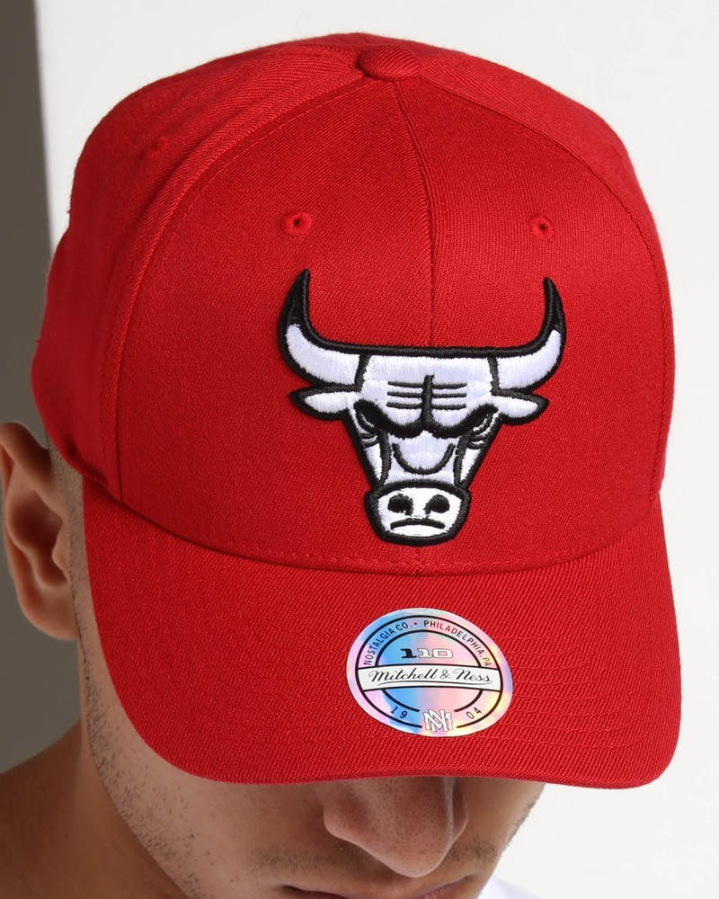 Mitchell & Ness Chicago Bulls Pinch 110 Snapback Scarlet