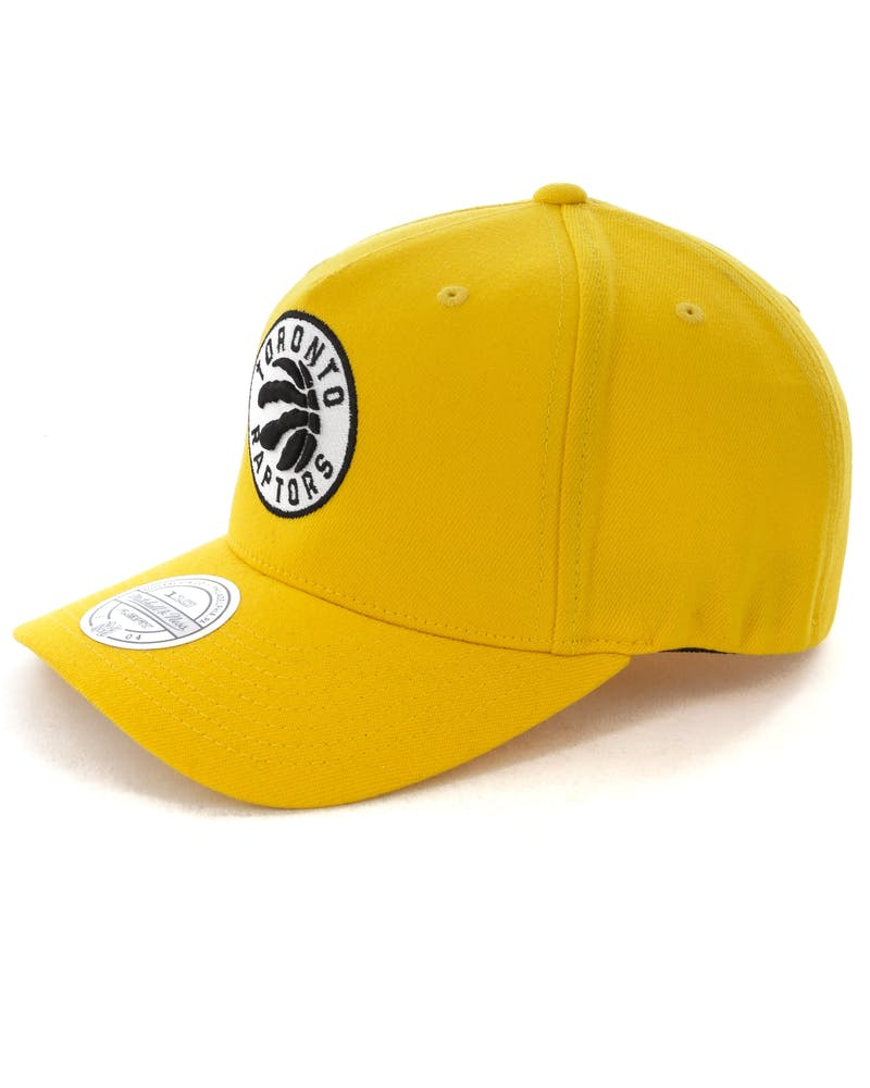 Mitchell & Ness Toronto Raptors Pinch 110 Snapback Yellow