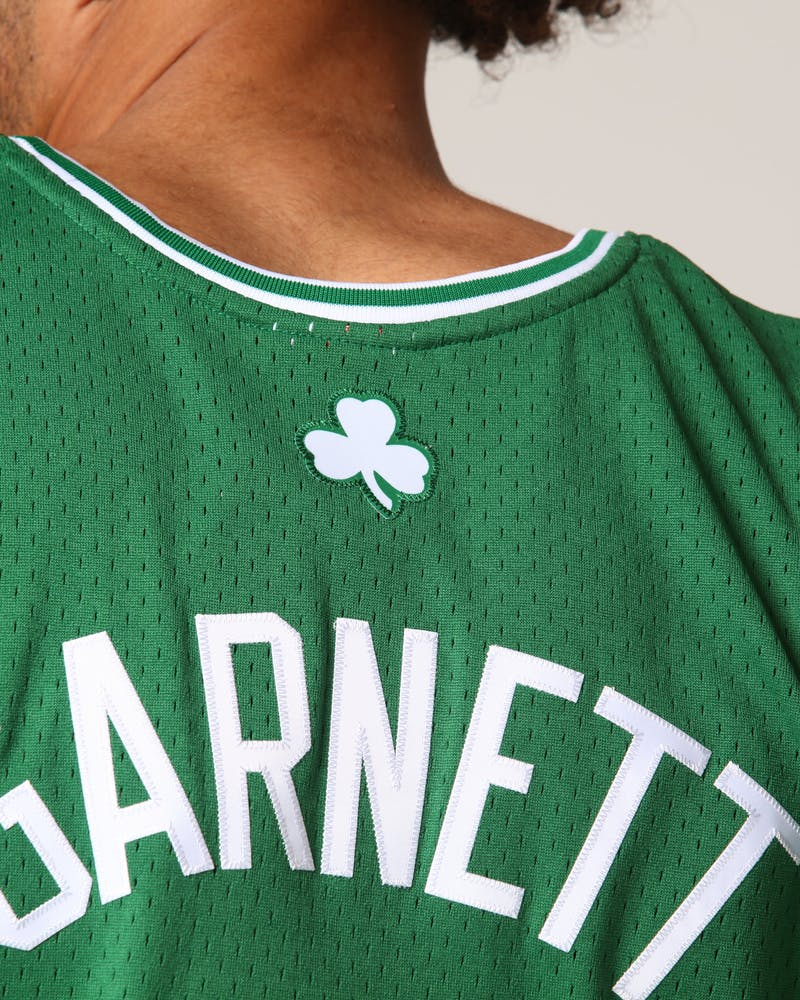 Mitchell & Ness Boston Celtics Kevin Garnett #5 NBA Jersey Green