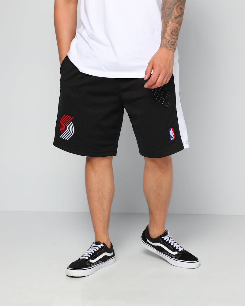 Mitchell & Ness Portland Trail Blazers 99/00 Swingman Shorts Black