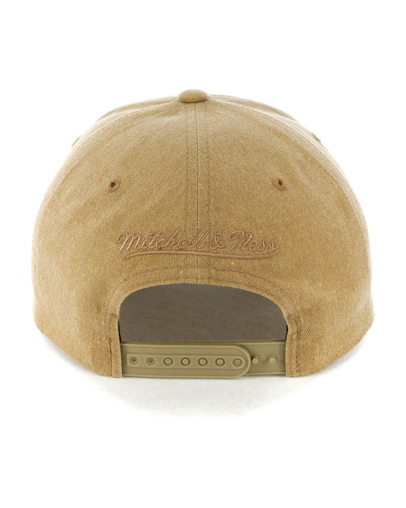 Mitchell & Ness Boston Celtics The Washed Heather Snapback Brown