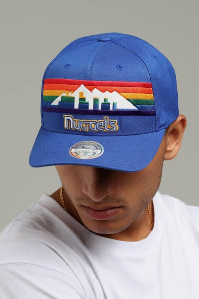 Mitchell & Ness Denver Nuggets Jersey Logo 110 Snapback Blue