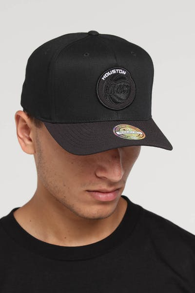 Mitchell & Ness Houston Rockets 110 Kevlar Snapback Black