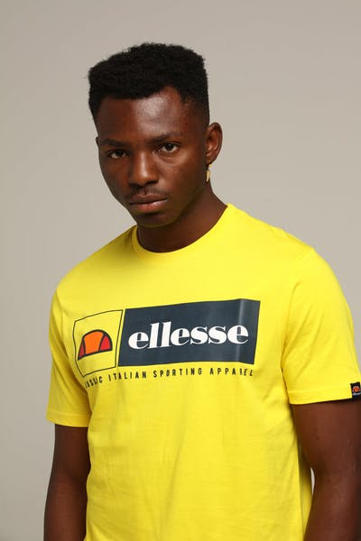 Ellesse Riviera T-Shirt Yellow