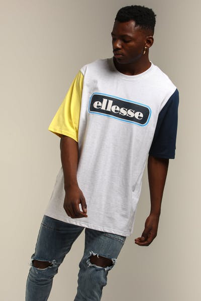Ellesse Mirro Oversized T-Shirt White Marle