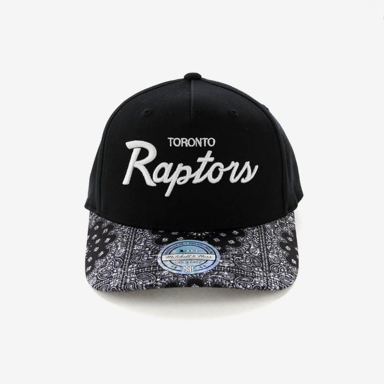 839b5ab876d88 Mitchell   Ness Toronto Raptors Paisley 110 Snapback Black – Culture ...