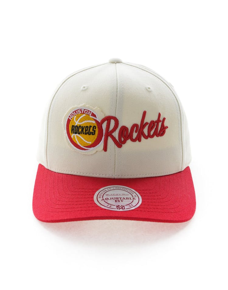 the best attitude 0fd1a 5f5cf Mitchell   Ness Houston Rockets HWC Vintage 110 Snapback Vintage Off White