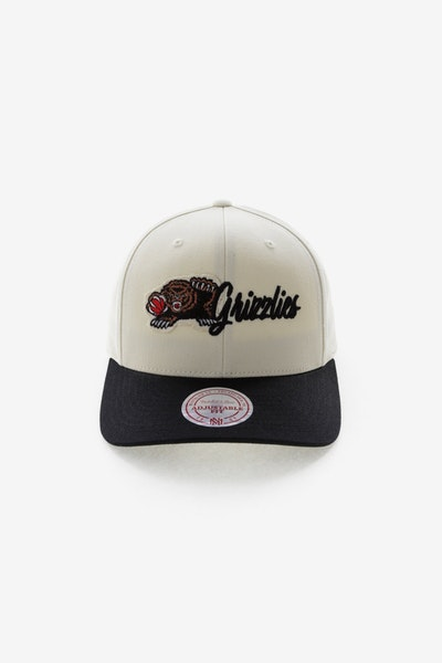 Mitchell & Ness Memphis Grizzlies HWC Vintage 110 Snapback Vintage Off White