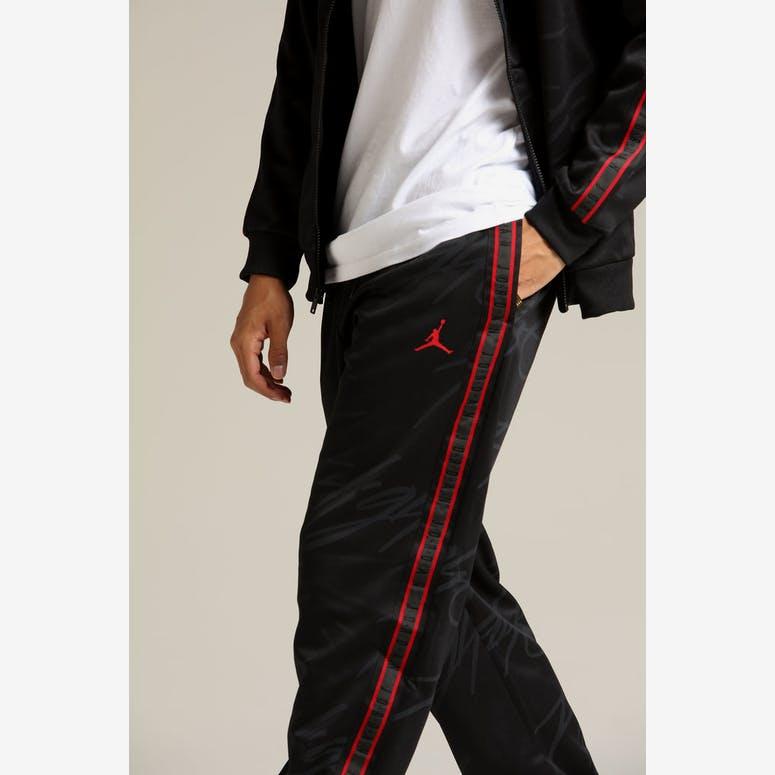 d973a6531bbc Jordan Jumpman Tricot TrackPant Black Red – Culture Kings NZ