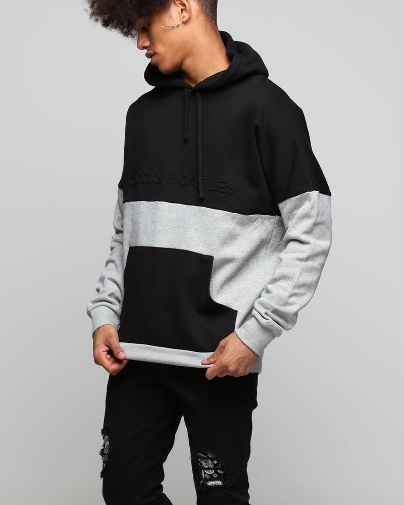 Crooks & Castles Defaced Bandito Knit Pullovers Black/Grey