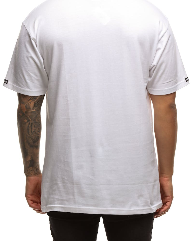 Crooks & Castles Coca & Caviar Knit SS Tee White/Black