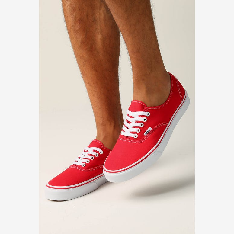 8f48fe16e85 Vans Authentic Red White
