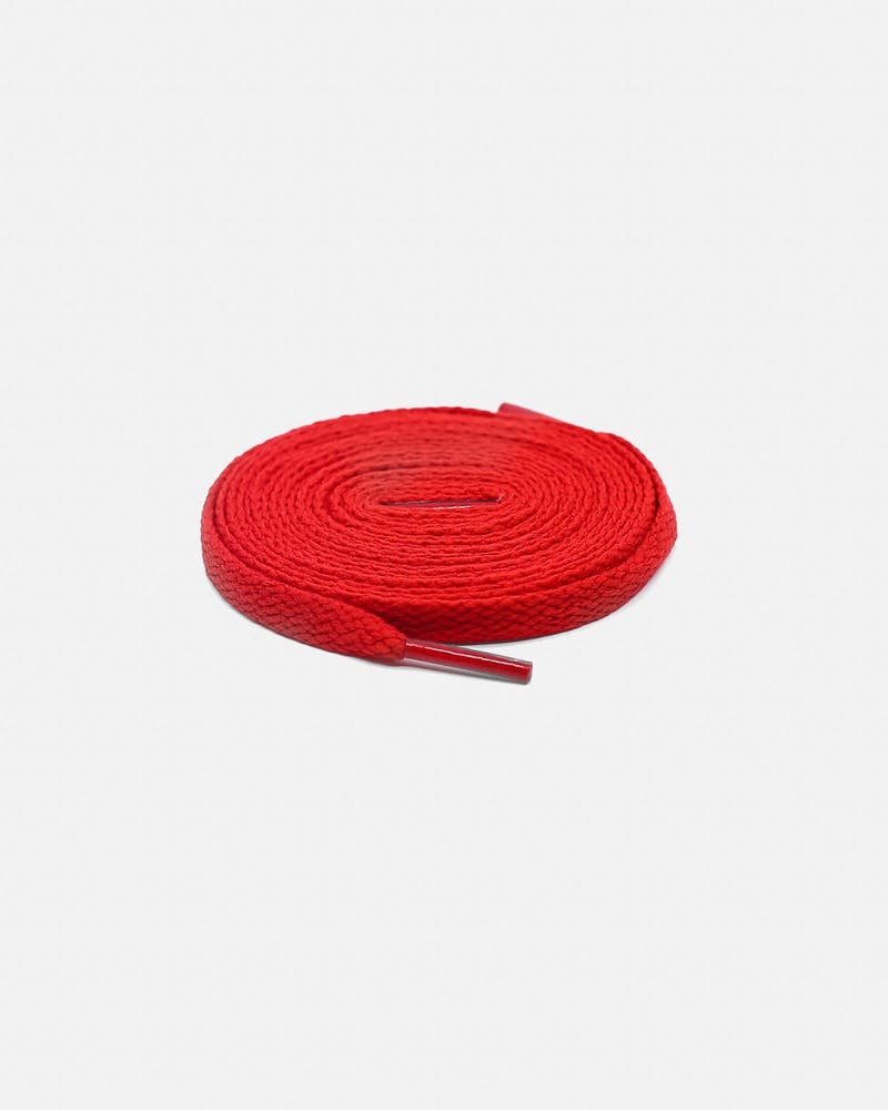 Lacespace Flat Laces Red
