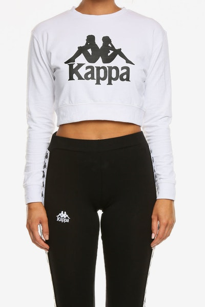 Kappa Women's Authentic Bammbamm Crew White