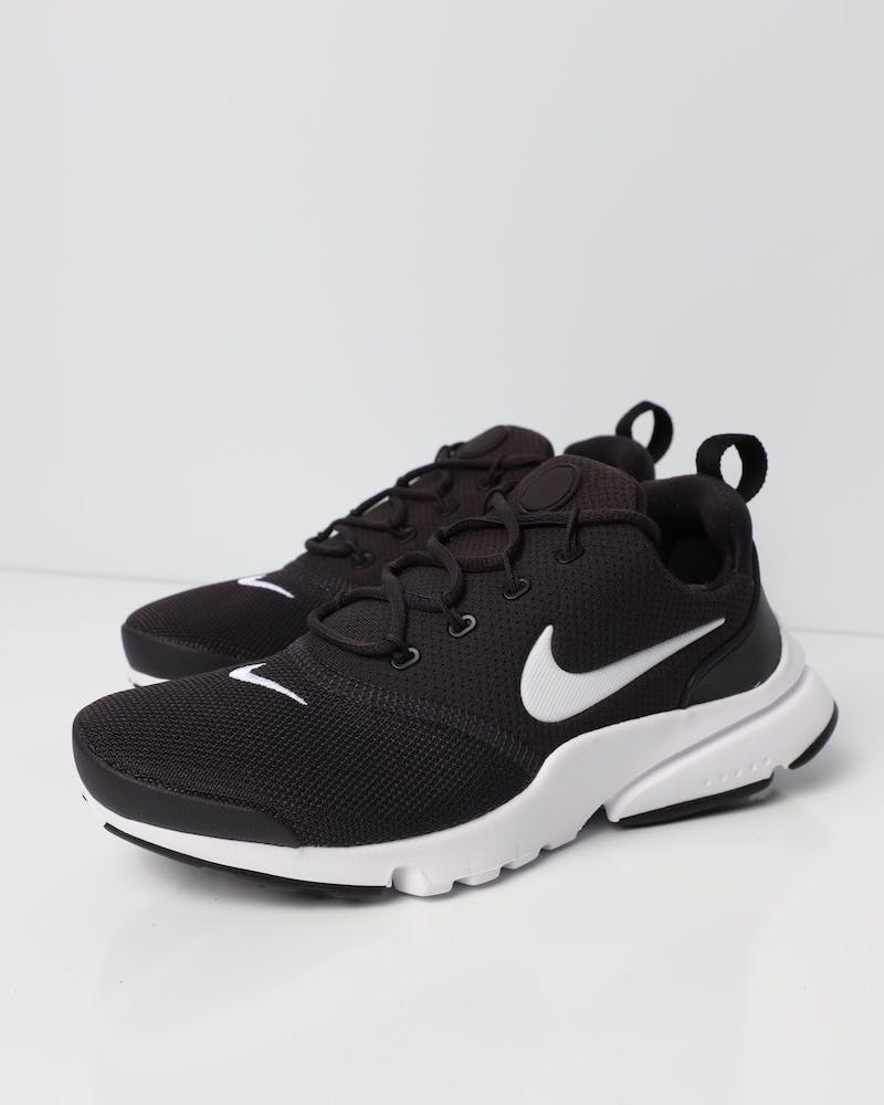 Nike Presto Fly Older Kids' Shoe Dark Grey/White/Black
