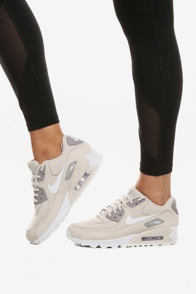 Nike Women's Air Max 90 Taupe/White