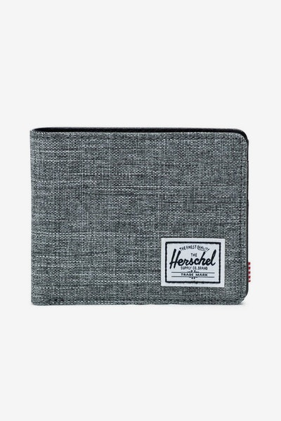 Herschel Supply Co Hank RFID Crosshatch Charcoal/Black