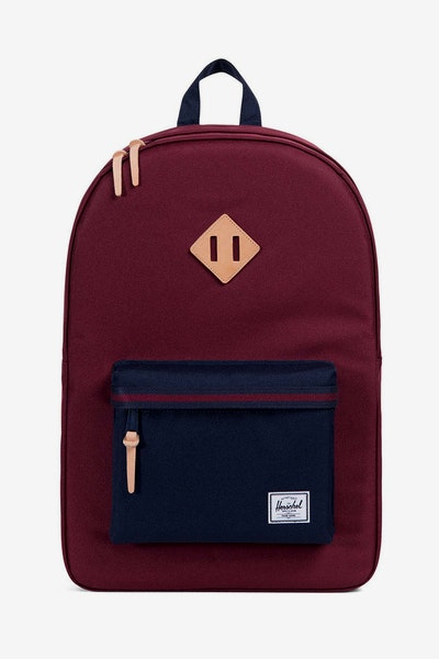 Herschel Supply Co Heritage Wine/Peacoat