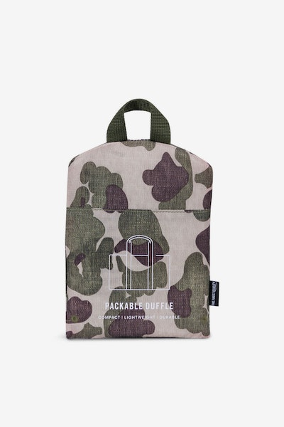 Herschel Supply Co Packable Duffle Frog Camo