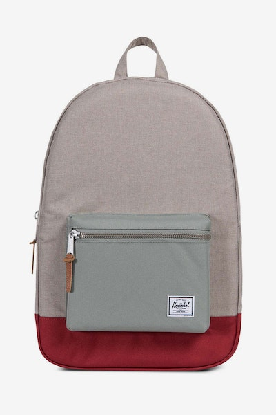 Herschel Supply Co Settlement Crosshatch Light Khaki/Grey