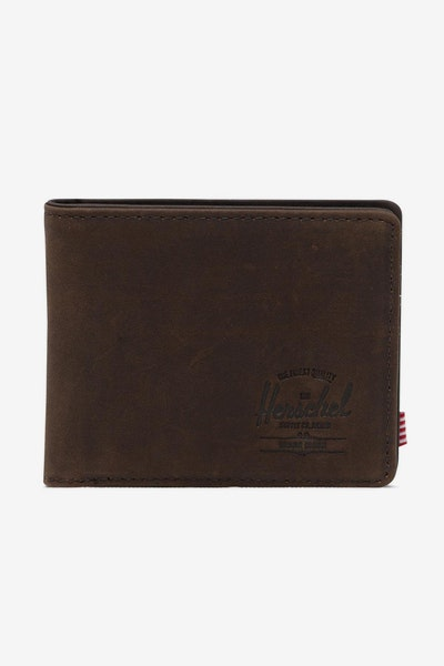 HERSCHEL BAG CO HANK + COIN RFID WALLET Nubuck