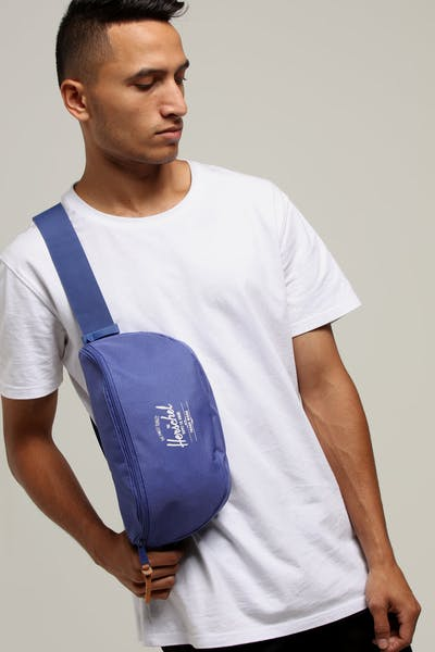 HERSCHEL BAG CO SIXTEEN RAVEN CROSSHATCH Deep Blue