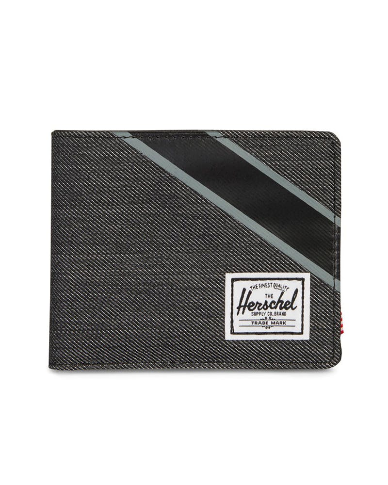 Herschel Supply Co Roy RFID Black/Black Denim