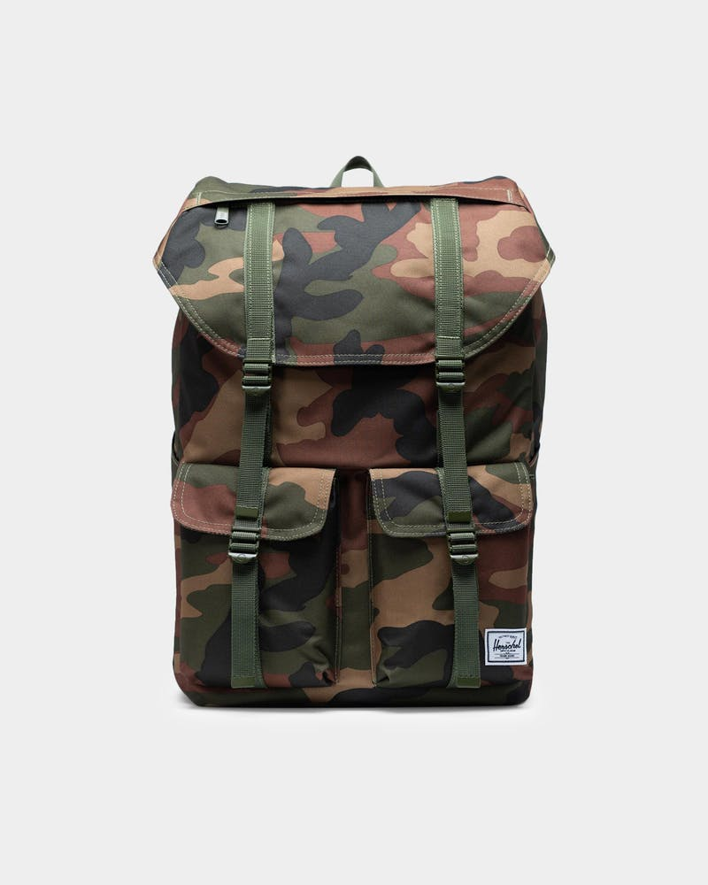 Herschel Bag Co Buckingham Backpack Woodland Camo