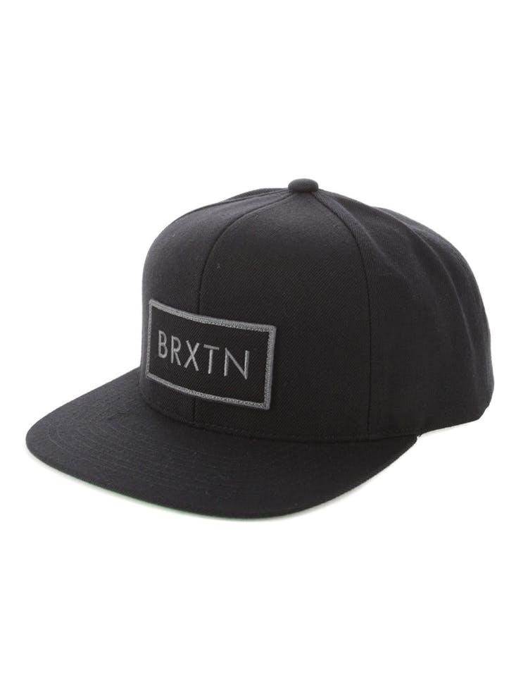 22c35864b9 Brixton Rift Snapback Black/Black
