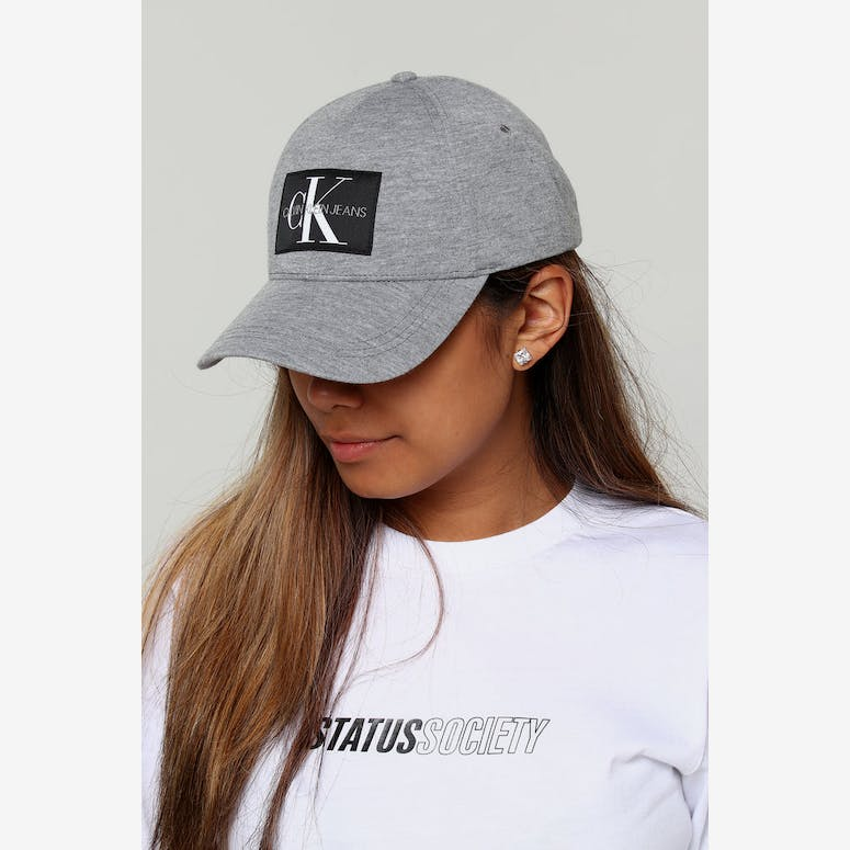 Calvin Klein Women s J Monogram Cap W Grey Heather – Culture Kings NZ bcbcfc3cc8