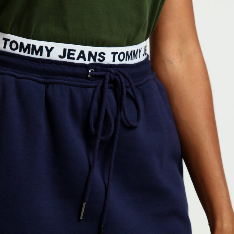 Tommy Jeans Women's TJW Casual Sweat Skirt  Black Iris